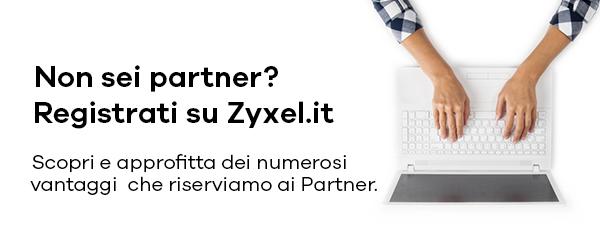 REGISTRATI SU ZYXEL.IT